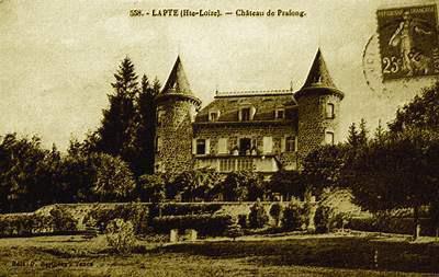 Château de Pralong à Lapte